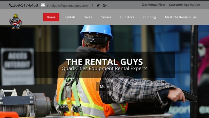 The Rental Guys Website