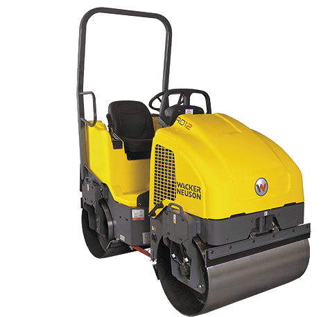 Equipment Rental Experts - Wacker Ride On Roller