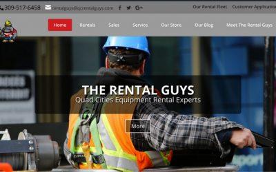 The Rental Guys Website