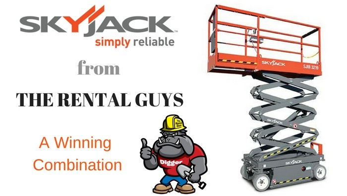 SkyJack Scissor Lifts
